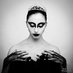 'Black Swan' inspired photoshoot ©AndiKingPhotography/GaiaAndreaRe