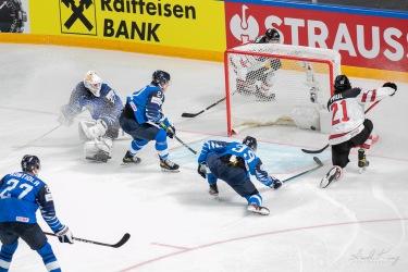 OT winning goal by Paul (CAN) during Gold medal final IIHF world championship 2021 (Riga, Latvia)